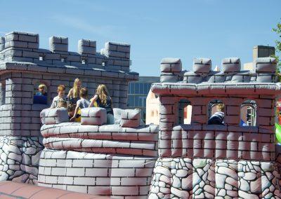 Chinese muur Hemelvaartsdag