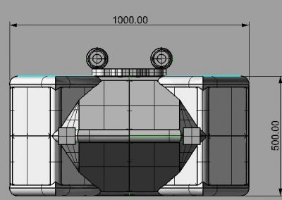Opblaasbare pub of café te huur bij WE-inflate ontwerp