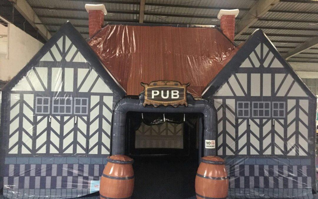 De Ierse Pub! Een geweldige thematent voor ieder feest.