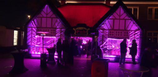 Ierse Pub opblaasbare feesttent te huur en te koop bij WE-inflate Enschede