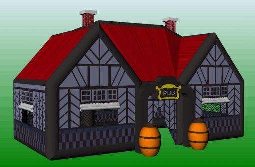 Ierse pub, vernieuwde versie binnenkort te huur en te koop bij WE-inflate 1