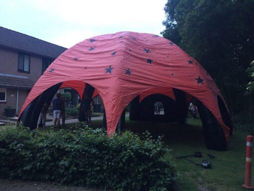 Dome, opblaasbare feesttent, partytent, thema tent huren of kopen bij WE-inflate