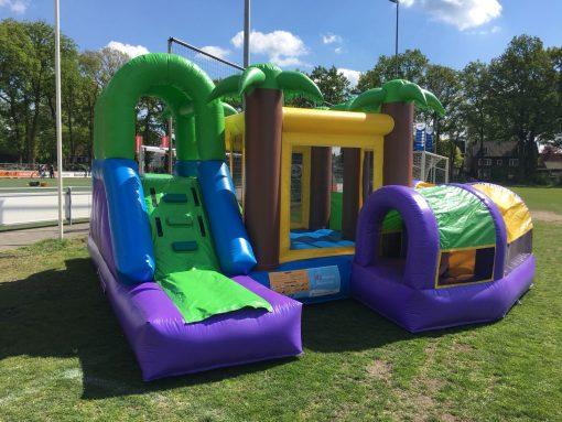 Eiland, een zomers springkussen voor de kleintjes huren bij WE-inflate Enschede