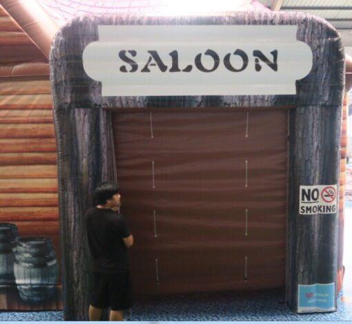 The Saloon, opblaasbare feesttent, partytent, thema tent huren of kopen bij WE-inflate