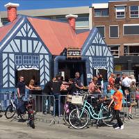 Ierse Pub, opblaasbare party tent, feesttent Markt Enschede