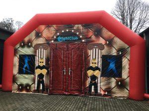 Nightclub, opblaasbare feesttent, partytent, thema tent huren of kopen bij WE-inflate