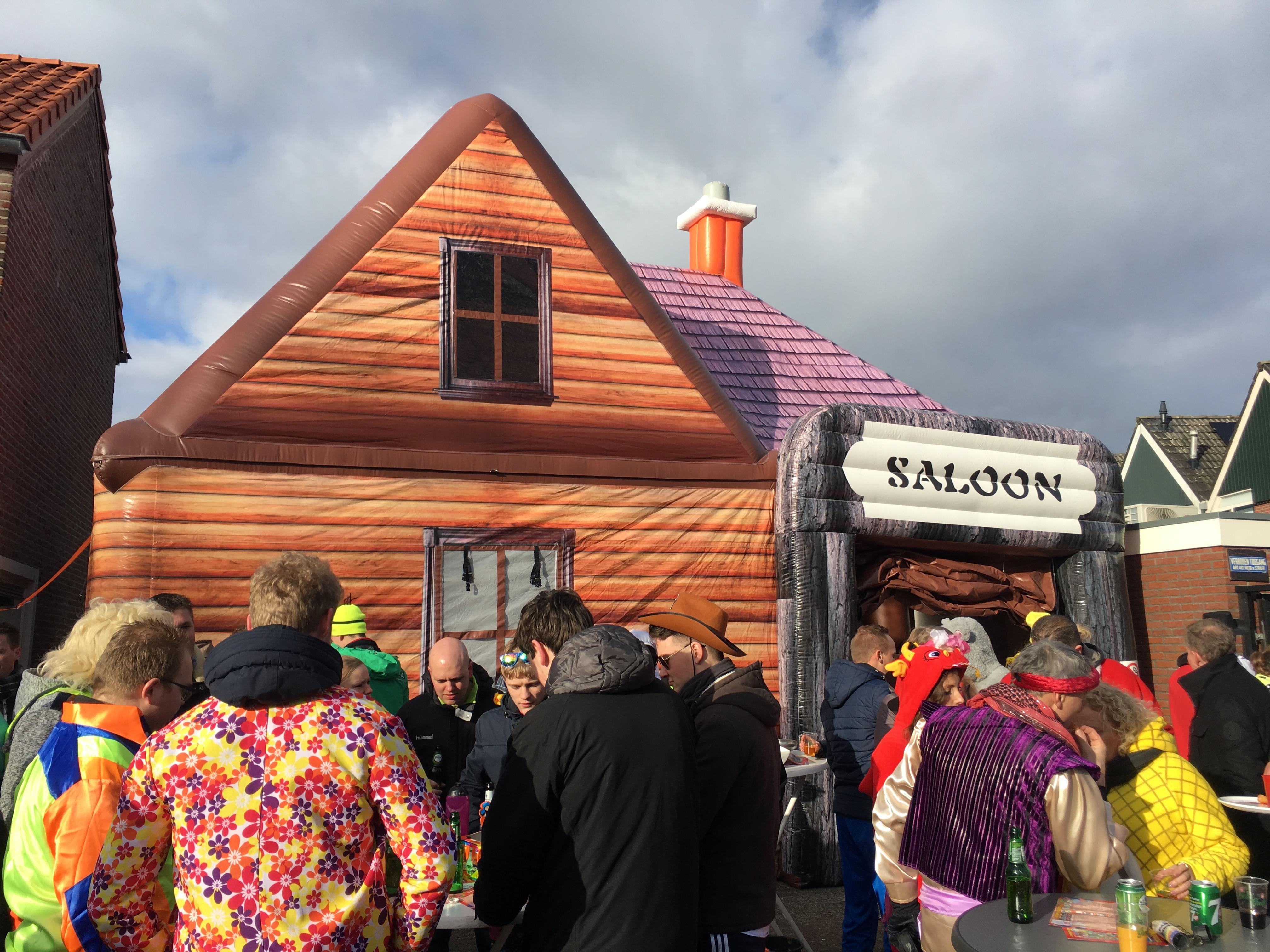 Saloon, opblaasbare partytent, thematent te huur, te koop WE-inflate (4)