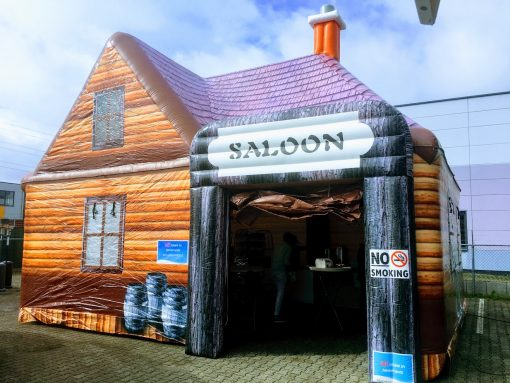 Saloon, opblaasbare partytent, thematent te huur, te koop WE-inflate (5)