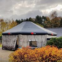 The Lodge, opblaasbare tent, feesttent, The Lodge, opblaasbare tent, feesttent, party tent, thema tent 1party tent, thema tent 1