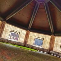 The Lodge, opblaasbare feesttent, party tent, thema tent