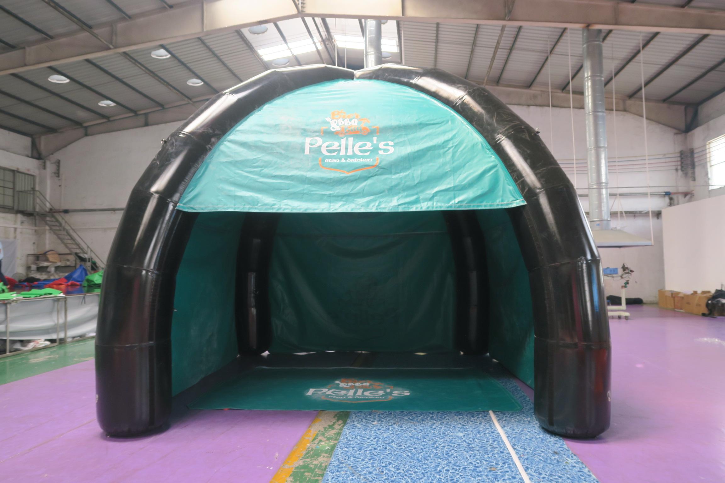 Dome, opblaasbare air tight tent, BBQ tent