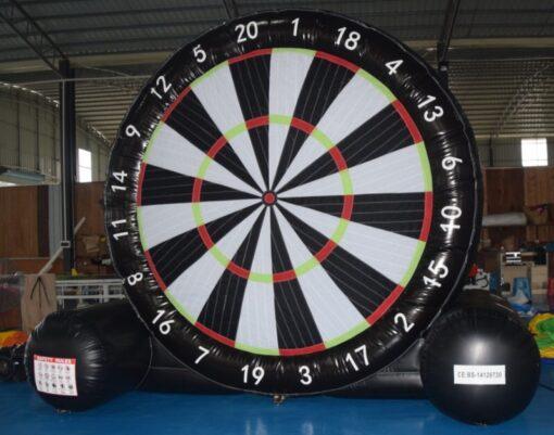 voetbal-dartbord te huur en te koop bij WE-inflate Enschede