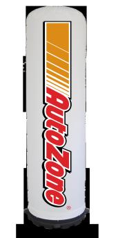 Air Tube, reclame zuil