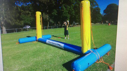 Volleybal-net, opblaasbaar volleybal-net te koop bij WE-inflate
