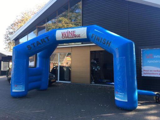 opblaasbare evenementenboog te huur bij WE-inflate te Enschede