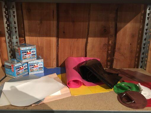 reparatie set voor opblaasbare tenten, springkussens of andere opblaasbare items