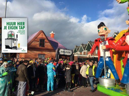 Saloon, opblaasbare thematent, partytent, feesttent, verkooptent te koop/te huur bij WE-inflate Enschede