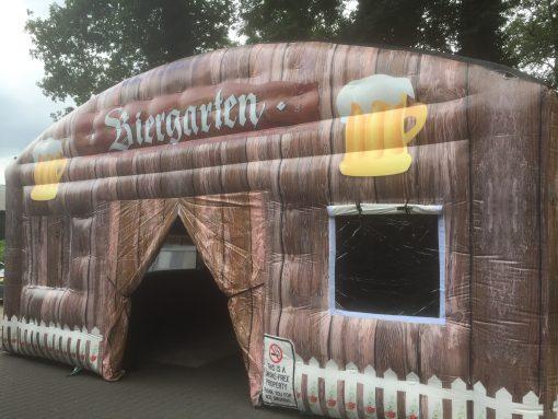Biergarten, opblaasbare feesttent, thematent, huren en kopen bij WE-inflate