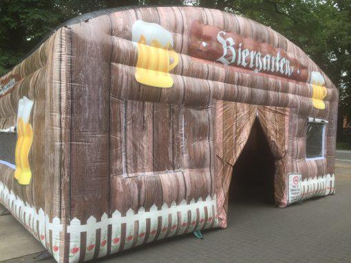 Biergarten, opblaasbare feesttent, thematent, huren of kopen bij WE-inflate 2