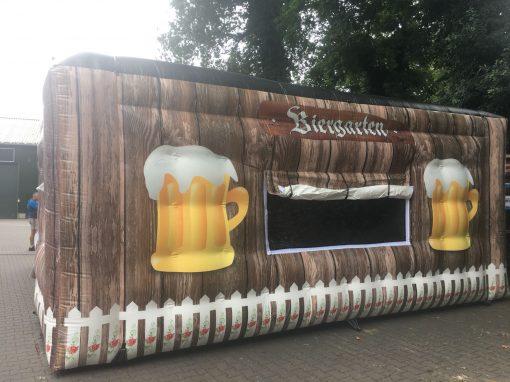 huur of koop onze party tent de Biergarten voor een oktoberfeest bij WE-inflate te Enschede 1