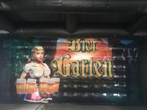 huur of koop onze partytent de Biergarten bij WE-inflate te Enschede 1