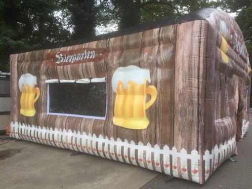 huur of koop onze thema tent de Biergarten bij WE-inflate te Enschede 1
