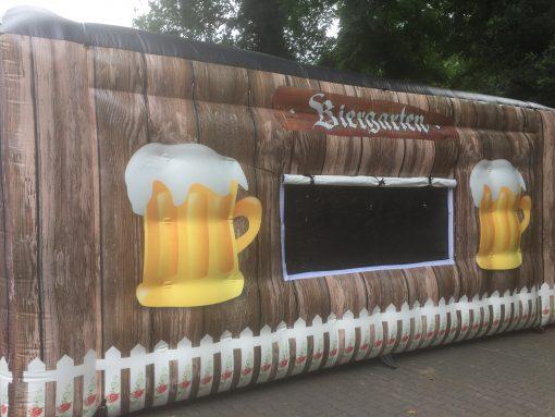huur of koop onze thema tent de Biergarten voor een oktoberfeest bij WE-inflate te Enschede 2