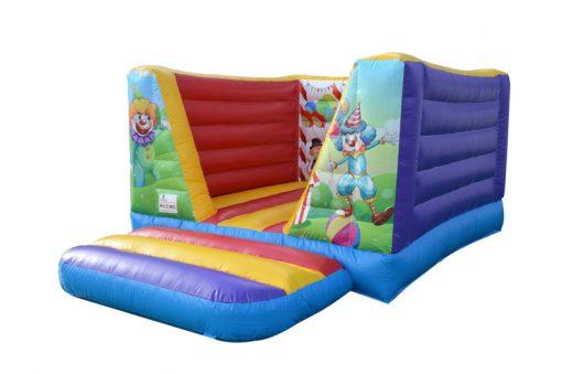 Circus, vrolijk mini springkussen te koop bij WE-inflate Enschede 1
