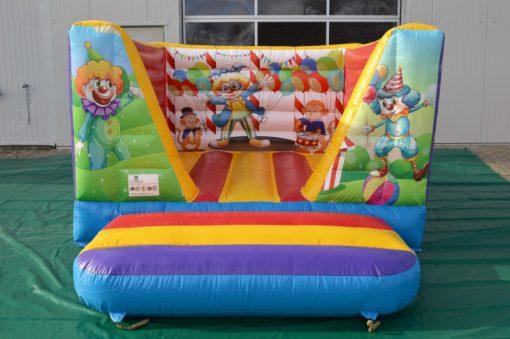 Circus, vrolijk mini springkussen te koop bij WE-inflate Enschede 3