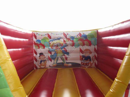 Circus, vrolijk mini springkussen te koop bij WE-inflate Enschede 6