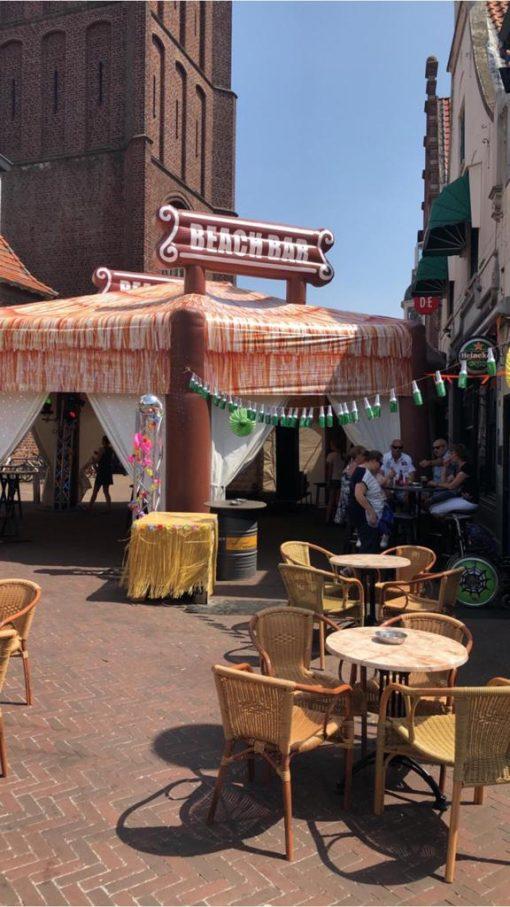 Beach Bar, feesttent te huur bij WE-inflate te Enschede1