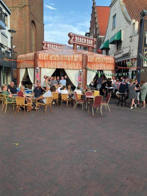Beach Bar, feesttent te huur bij WE-inflate te Enschede2