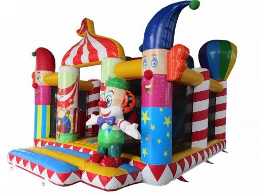 Circus, vrolijk springkussen te koop bij WE-inflate Enschede 1