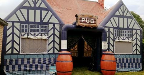 De Ierse Pub, geleverd aan Partyhome Verhuur & Entertainment