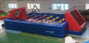 Menselijke voetbaltafel ontworpen door WE-inflate en vanaf nu te koop bij WE-inflate te Enschede 5