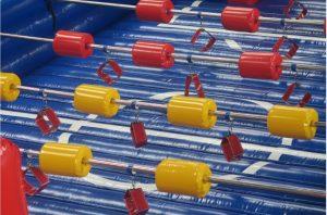 Menselijke voetbaltafel ontworpen door WE-inflate en vanaf nu te koop bij WE-inflate te Enschede 7