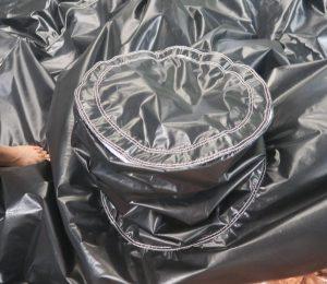 Smoking Kitchen opblaasbare tent met afsluitbare schoorsteen om in te koken, maatwerk van WE-inflate5