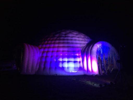 Huur de Iglo bij WE-inflate Enschede, nu met Led verlichting1