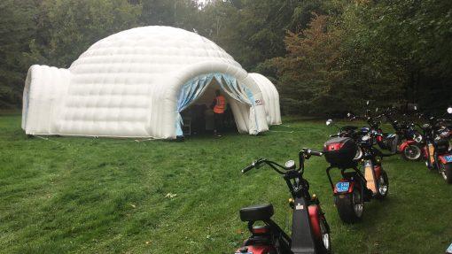 Iglo, conferentietent te huur bij WE-inflate Enschede 2