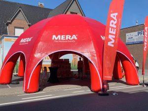 Mera Petfood dome, ontwikkeld en gemaakt door WE-inflate Enschede 4