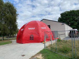 Mera Petfood dome, ontwikkeld en gemaakt door WE-inflate Enschede 5
