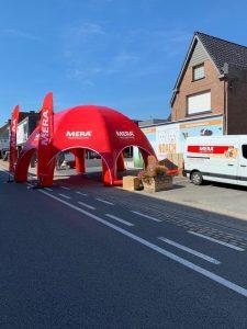 Mera Petfood dome, ontwikkeld en gemaakt door WE-inflate Enschede 6